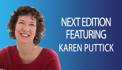 Next Week, Karen Puttick