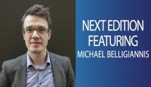 Next Week, featuring Michael Belligiannis.